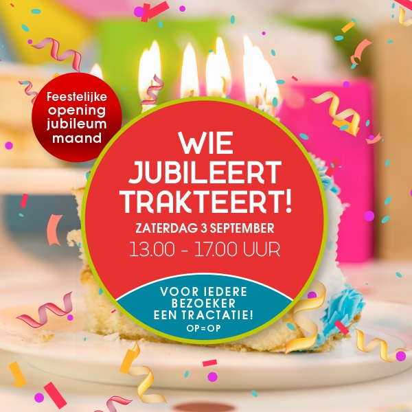 Dukenburg trakteert zaterdag 3 september