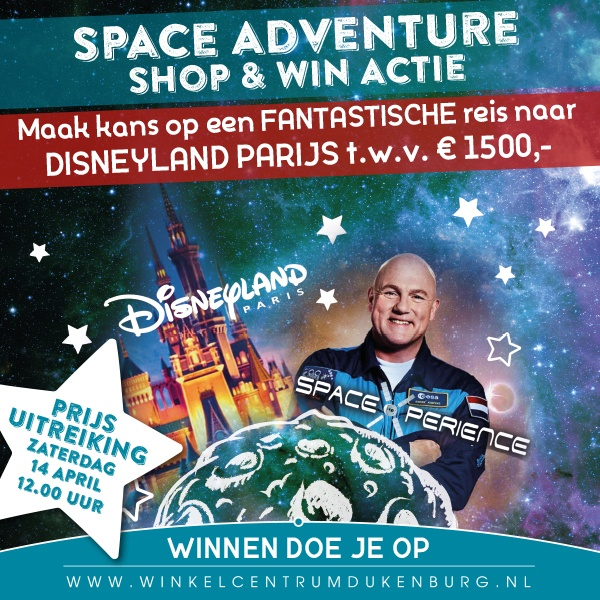 Space Adventure Shop & Win Actie