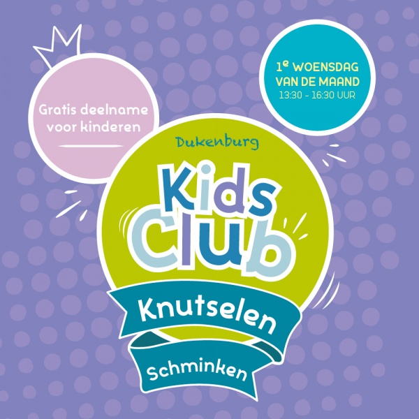 Woensdag 5 februari introductie Dukenburg Kids Club!