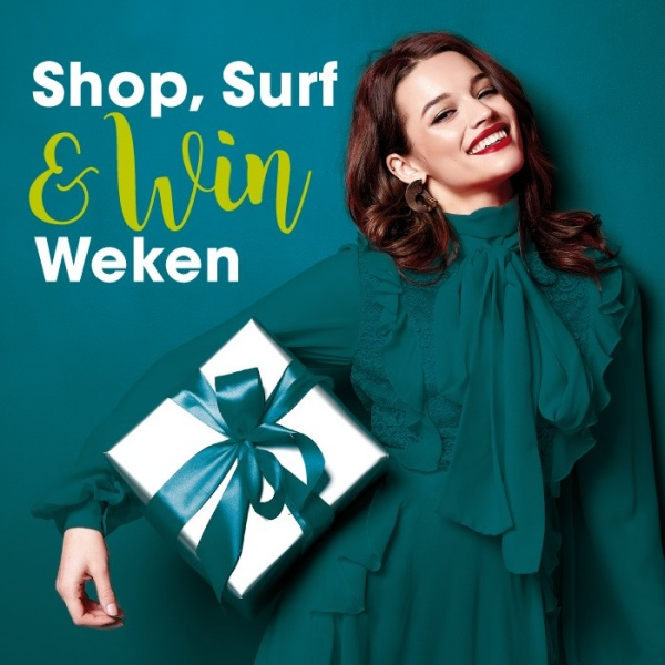 Shop, Surf en Win weken